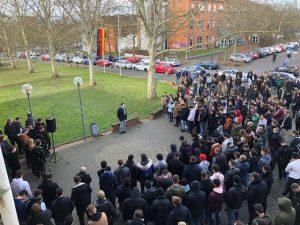 Trauer und Solidarität – Schweigen für unsere Mitmenschen