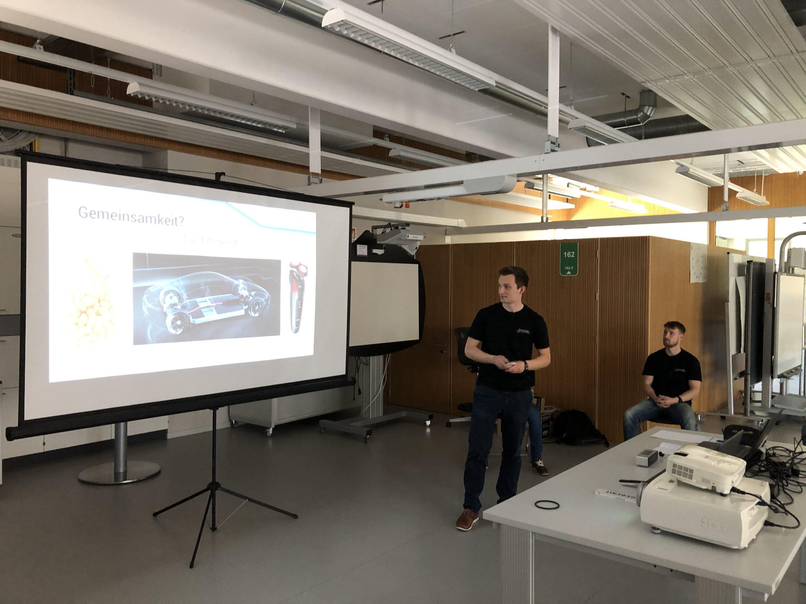 Technikerpräsentationen unter Corona